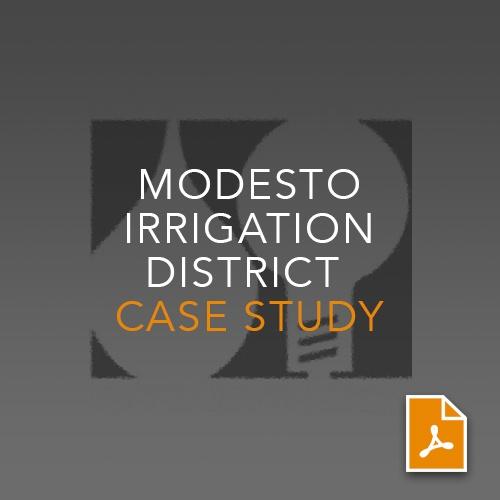 Modesto irrigation district case study