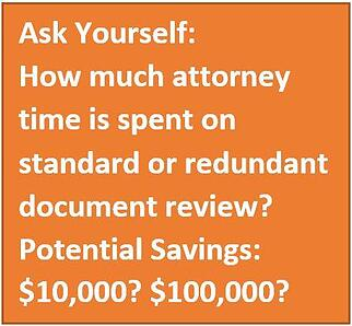 attorney time spent on reviewing contracts