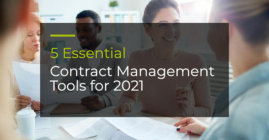 5 Essential Contract Management Tools for 2021