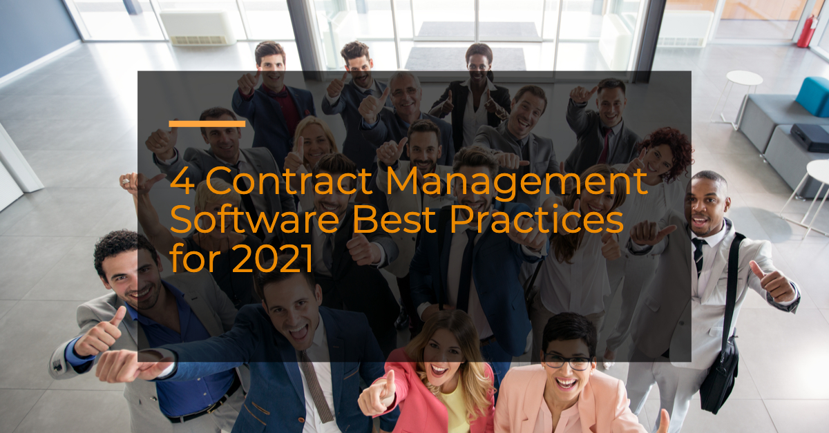 contract management software best practices contract lifecycle management system