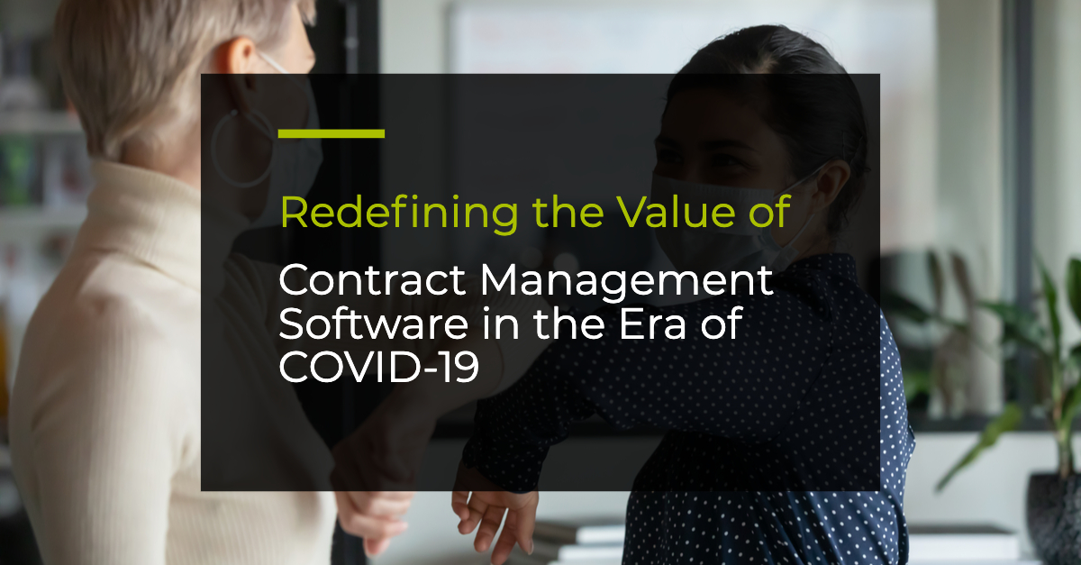 contract management software in the era of COVID-19
