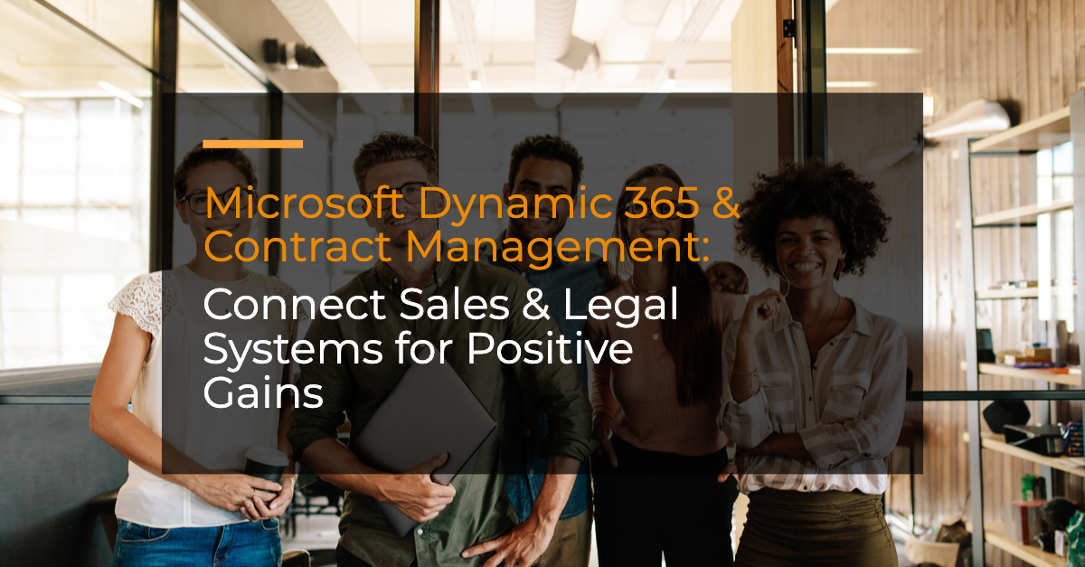 microsoft dynamic 365 contract management enterprise contract management CLM